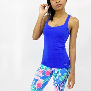 LORNA JANE Blue Workout Tank Top Size Extra Small